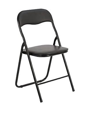 Stuhl 6er Set Round schwarz