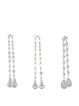 Winward Crystal Swag Set of 3, Clear