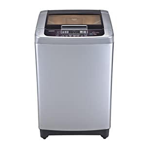 LG 8 Kg T90FRF21P Top Loading Fully Automatic Washing Machine-Free Silver