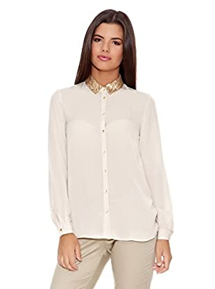 Springfield Camisa Removable Neck Blouse Removable Neck Blouse