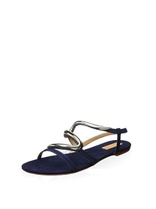 Schutz Women's Alexia Flat Sandal (Sailfish)