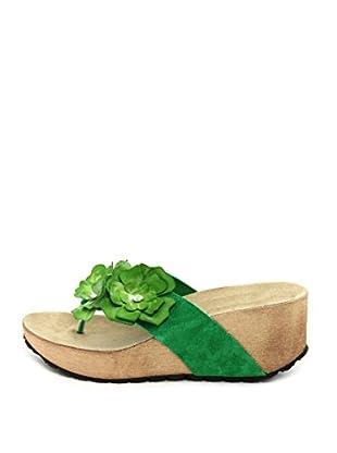La Comoda Sandalias Carmen (Verde)
