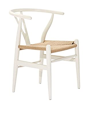 Modway Amish Wooden Dining Arm Chair (White)