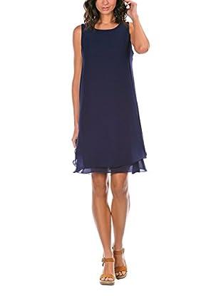 Bleu Marine Vestido
