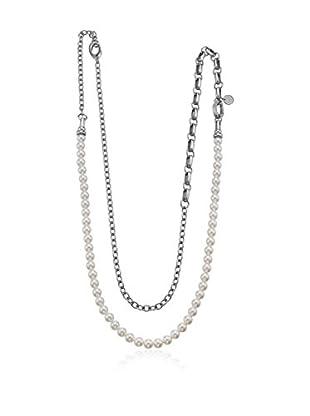 Esprit Collar Esprit Steel Classic Pearls Blanco