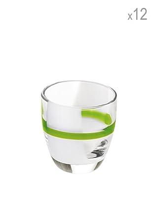 Guzzini Set 12 Bicchierini Liquore Table Art 2 Verde