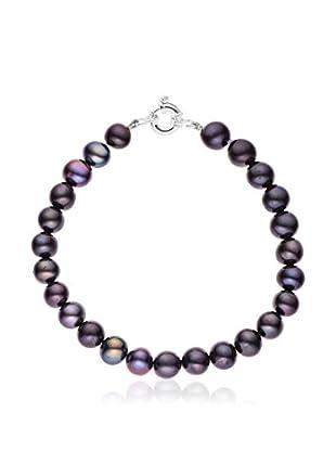Compagnie générale des perles Braccialetto Argento/Violetto