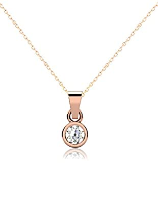 Friendly Diamonds Conjunto de cadena y colgante FDP6241R Oro Rosa