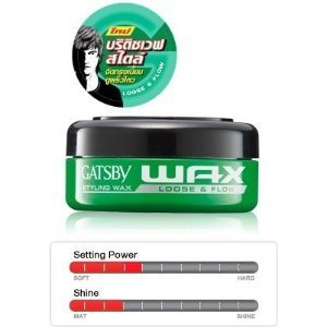 Gatsby Styling Wax Loose and Flow, 75g