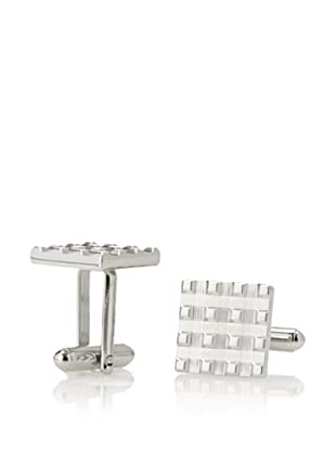 Link Up Square Basket Weave Cufflinks