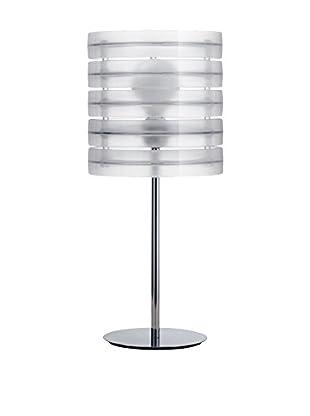 Caimi Tischlampe Ring transparent/chrom