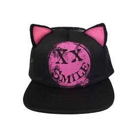 �A�������E�����B�[���@�L���b�v/Abbey Dawn/Smile Kitty Cap/AADG-11