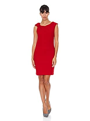 Cortefiel Vestido Nudo (Rojo)