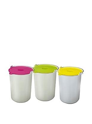 H.koenig Eiscreme Behälter BO325 für HF250 mehrfarbig
