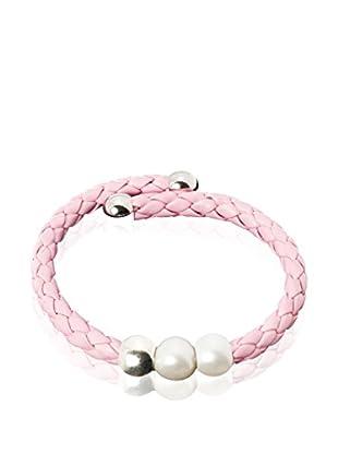 Ana Pearls Armband  rosa