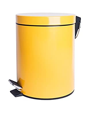 Mülleimer 12 L gelb