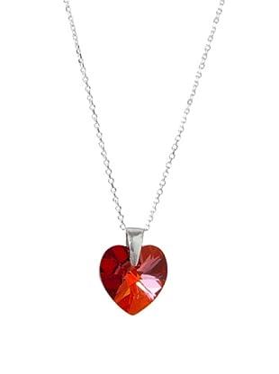 MUSAVENTURA Collar  Heart Rojo Rojo