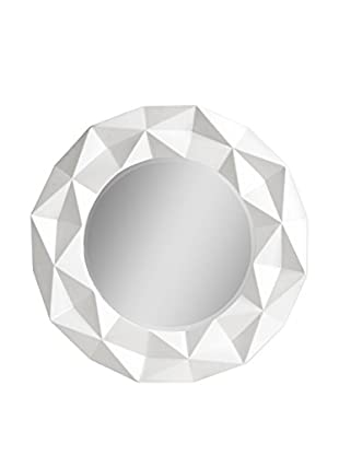 Premier Housewares Spiegel High Gloss weiß