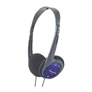 Panasonic (RP-HT030E-A) Foldable Headphone For iPod / MP3 player (Blue)