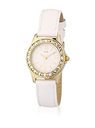 Guess Reloj de cuarzo Woman Moda + 2 Bänder Blanco 28 mm