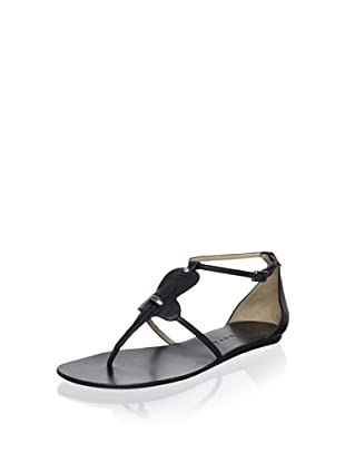 Pura López Women's Thong Sandal (Negro)
