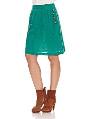 Pepe Jeans London Falda Mars (Verde)