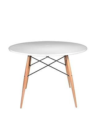 LO+DEMODA Mesa Comedor Tower Blanco