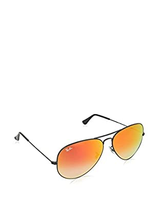 Ray-Ban Gafas de Sol 3025 _002/4W AVIATOR LARGE METAL (62 mm) Negro Brillo / Rojo