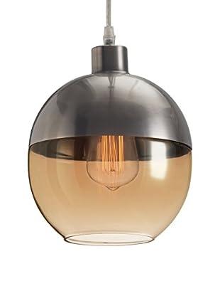 Zuo Trente Ceiling Lamp, Satin/Amber