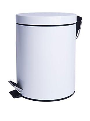 Mülleimer 12 L weiß