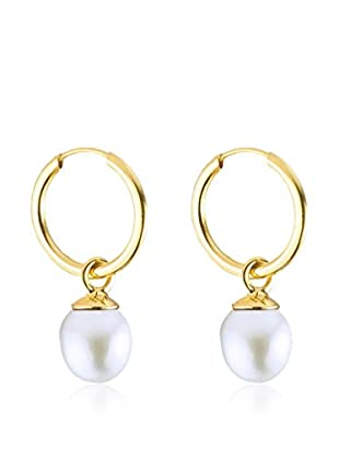 SO FINE PEARLS Pendientes  oro amarillo 18 ct