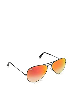 Ray-Ban Gafas de Sol 3025 _002/4W AVIATOR LARGE METAL (58 mm) Negro Brillo / Rojo