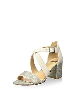 Bata 7691401 Sandali con cinturino alla caviglia, Donna, Bianco, 39