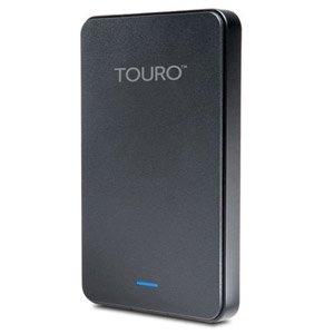 【クリックでお店のこの商品のページへ】HGST Touro Mobile MX3 Black 外付けポータブルハードディスク 1TB 0S03578
