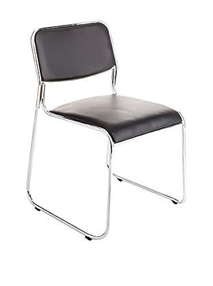 Contemporary Living Special Chairs & Co. Stuhl 4er Set Match schwarz