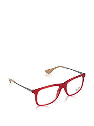 Ray-Ban Gestell 7054 552553 (53 mm) rot