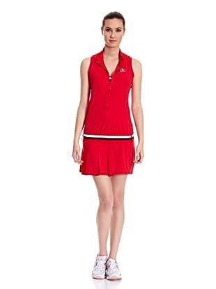 Naffta Vestido Tenis Pádel (Rojo / Marrón)