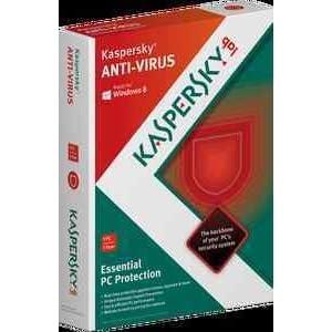 Kaspersky Anti-Virus 2013 1 PC 1 Year