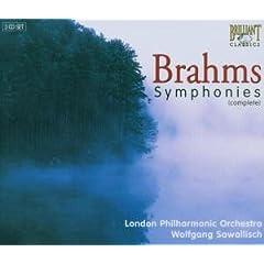 輸入盤 サヴァリッシュ指揮/ロンドン交響楽団 ブラームス:交響曲全集、ハイドンの主題による変奏曲ほか(3枚組)のAmazonの商品頁を開く