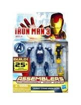 Marvel Iron Man 3 Assemblers Sonic Camo Iron Man Figure