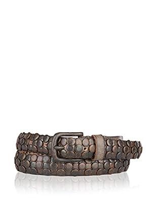 Cowboysbelt Gürtel Cowboysbelt grau/braun 105 cm