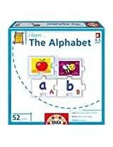 I Learn: The Alphabet 52 Piece Jigsaw Puzzle By Educa