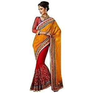 Embroidered Designer Wedding Bridal Saree