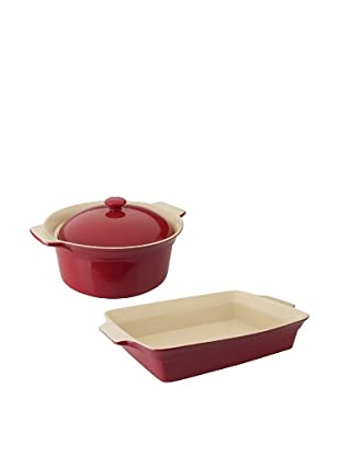 BergHOFF Geminis 3-Piece Bakeware Set, Red