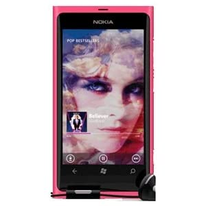 Nokia Lumia 800 Smartphone-Matte Magenta