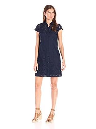 Sandra Darren Women's Short Sleeve Lace Dress