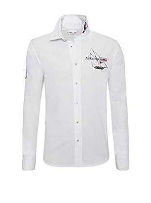 Nebulus Camisa Hombre Havanna Blanco XL