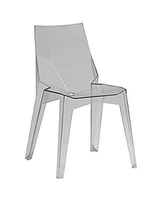Furniture Contempo Solo Chair, Smoke