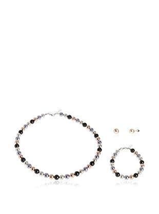 DESTELLOS Set Collier, Armband und Ohrringe