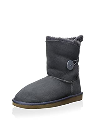 Pegia Women's Classic Mini Boot with 1 Button Closure